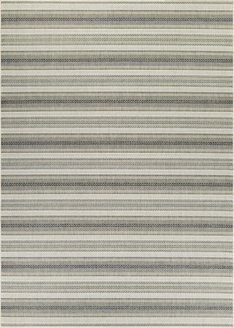 Monaco Marbella Striped Outdoor Rugs-Rug Shop and More