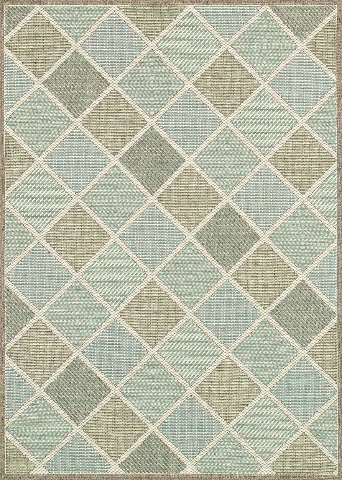 Monaco Meridian-Indoor Outdoor Modern Area Rugs