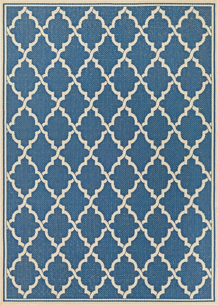 Couristan Monaco Ocean Port Indoor Outdoor Modern Area Rugs