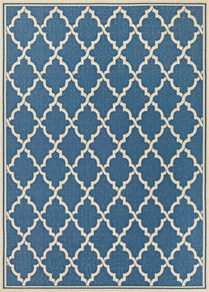Monaco Ocean Port Blue Outdoor Rugs-Rug Shop and More