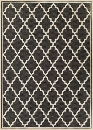 Monaco Ocean Port Black Outdoor Rug-Rug Shop and More