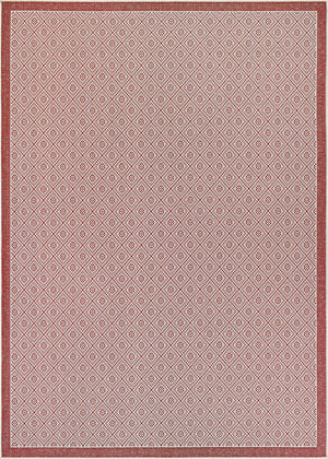 Monaco Sea Pier Red Outdoor Rugs-Rug Shop and More