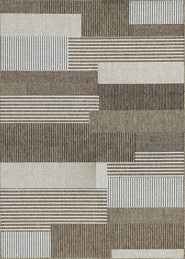 Monaco Starboard-Indoor Outdoor Modern Area Rugs