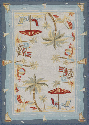 Outdoor Escape Pacific Heights Beach Rug-Rug Shop and More