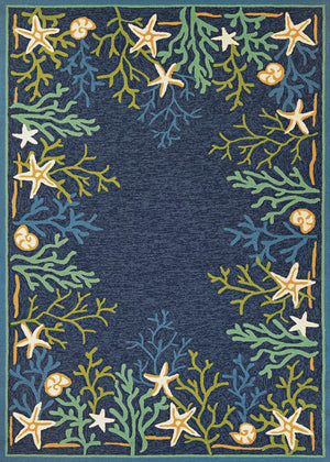 Outdoor Escape Sea Water Beach Area Rugs-Rug Shop and More