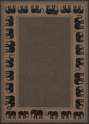 Recife Elephant Outdoor Area Rugs-Rug Shop and More
