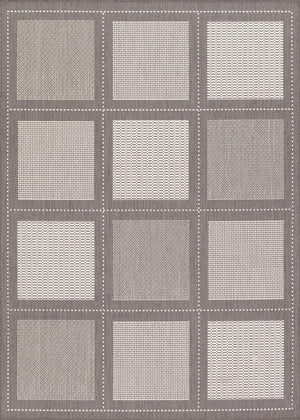 Recife Summit Grey Outdoor Rugs-Rug Shop and More