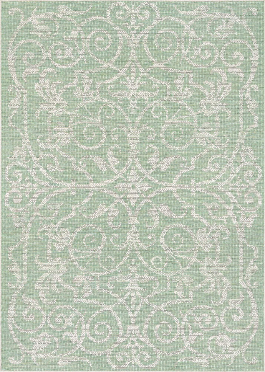 Monaco Summer Quay Green Outdoor Rug-Rug Shop and More
