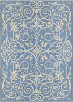 Monaco Summer Quay Blue Outdoor Rug-Rug Shop and More