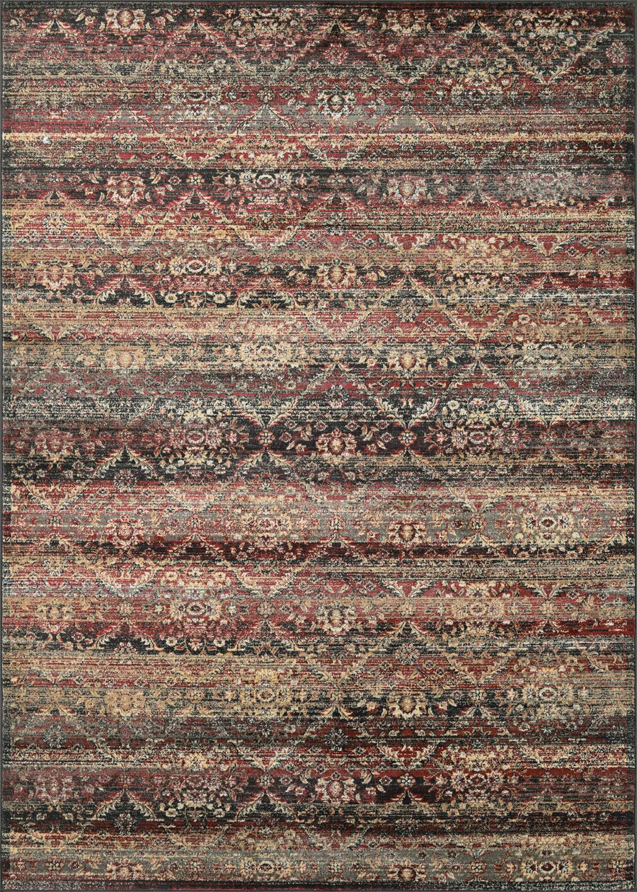 Zahara All Over Diamond Vintage Area Rugs