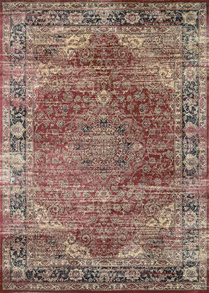 Zahara Persian Vase Vintage Inspired Area Rugs
