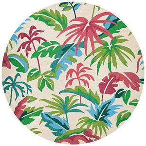 Covington Fiji Round Outdoor Rug-Rug Shop and More