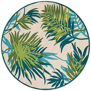 Covington Jungle Leaves Outdoor Rug Area Rugs - Rug Shop and More