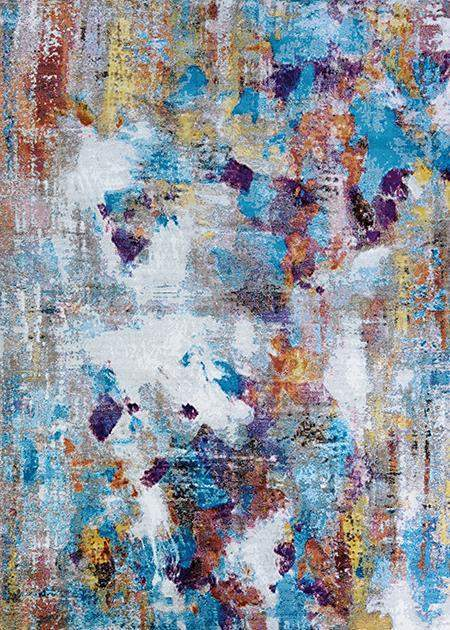 Gypsy Artist Palette Abstract Rugs-Area Rugs-Rug Shop and More