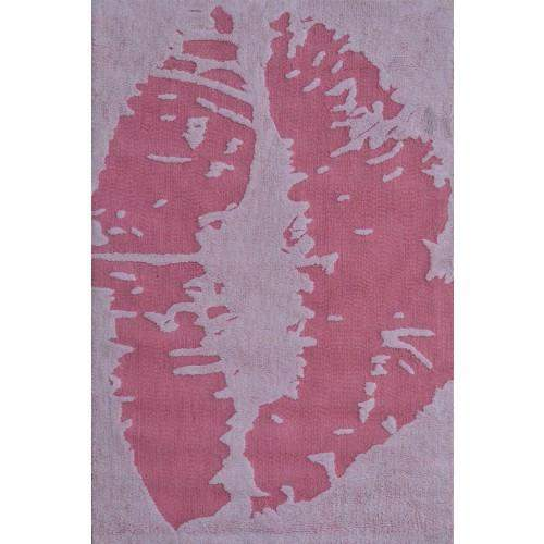 Kiss Teenage Room Pink Area Rug-Rug Shop and More
