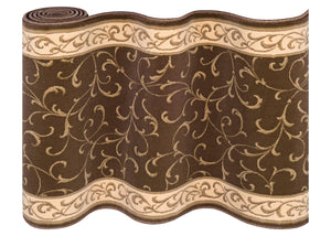 La Scala Chocolate Staircase Runner-Staircase Runner-Rug Shop and More
