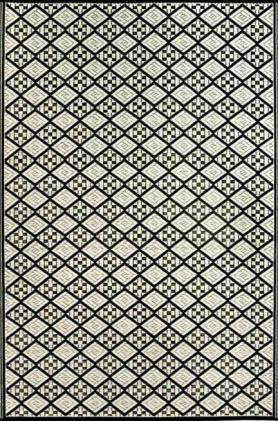 Eco Friendly Geometric Plastic Outdoor Area Rugs-Area Rugs-Rug Shop and More
