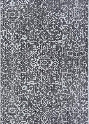 Palmette Floral Outdoor Rug-Rug Shop and More