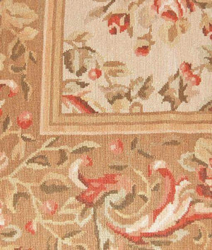 Needlepoint Design-Traditional Area Rugs-One Of A Kind Area Rugs-Rug Shop and More