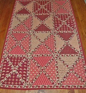 Needlepoint Design-Traditional Area Rugs