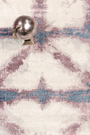 "9' 0"" X 12' 0"" Shibori Hand Loomed Silk & Wool Area Rug"