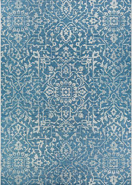Palmette Ocean Outdoor Rug-Rug Shop and More