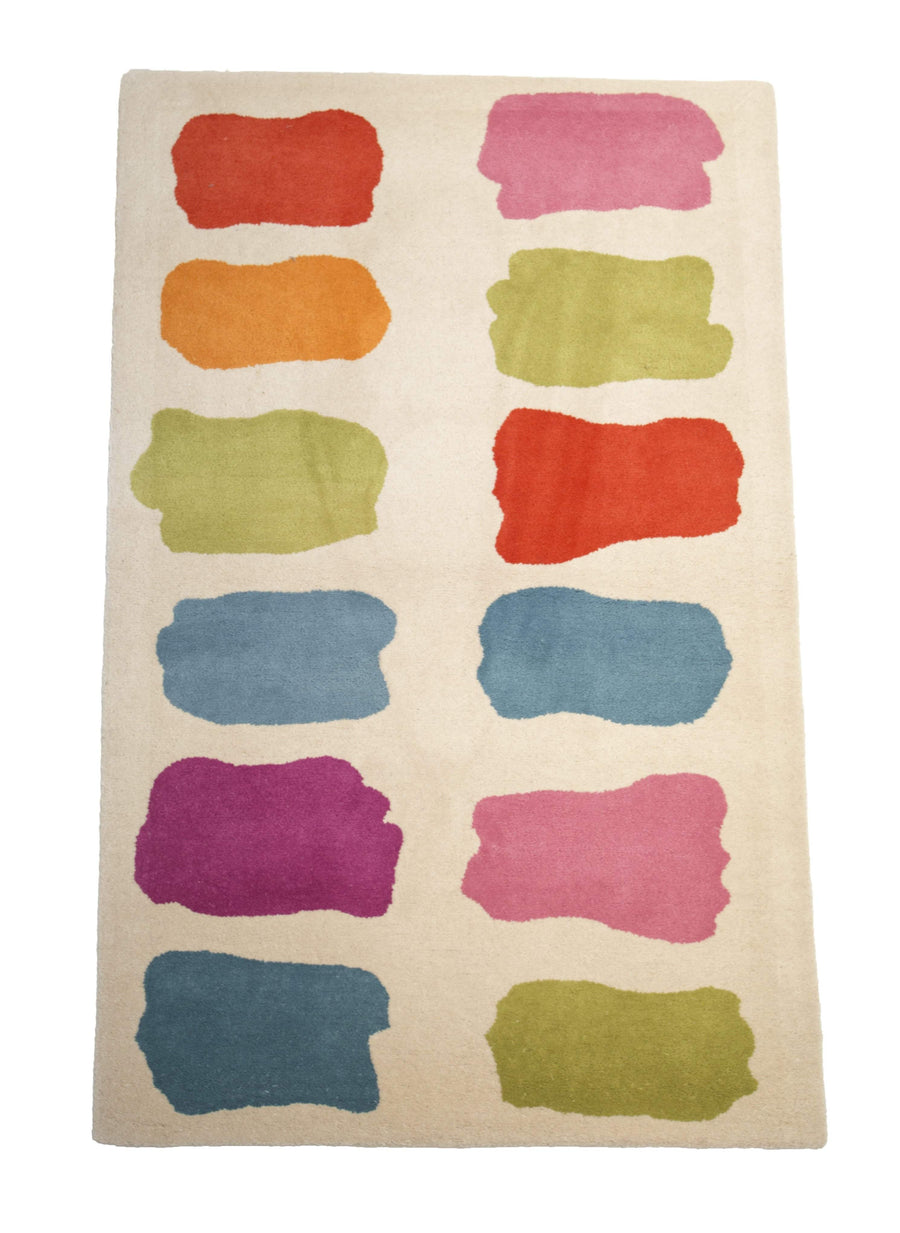 Playroom Color Swatch Kids Fun Rug-Area Rugs-Rug Shop and More
