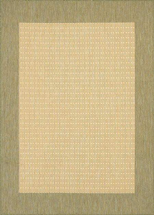 Recife Checkered Field Green Outdoor Rug-Rug Shop and More