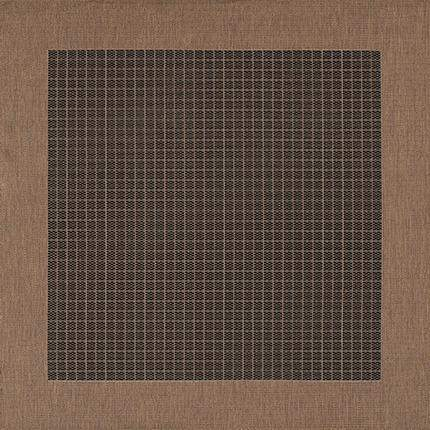 Recife Checkered Field Outdoor Rugs-Rug Shop and More