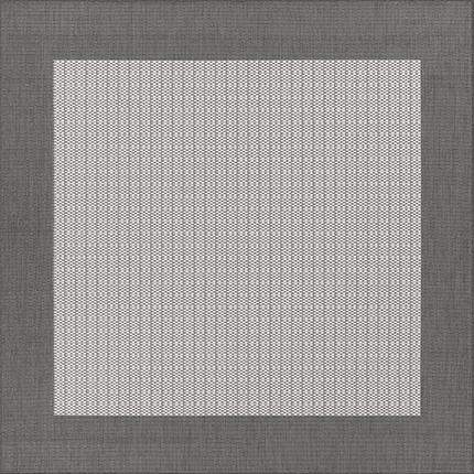 Recife Checkered Field Grey Outdoor Rug-Rug Shop and More