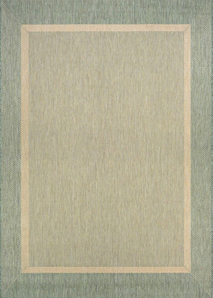 Recife Stria Texture Green Outdoor Rugs-Rug Shop and More
