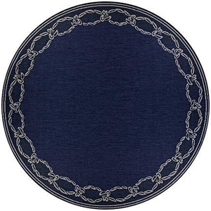 Recife Rope Knot Round Outdoor Rugs-Rug Shop and More
