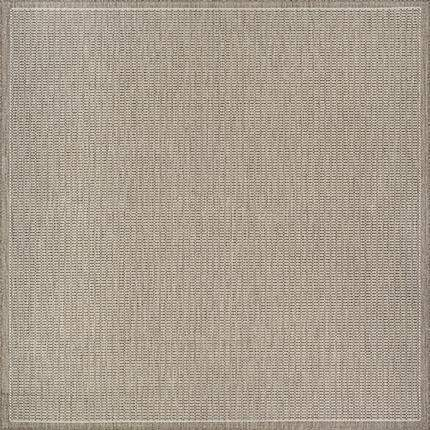 Recife Saddle Stitch Outdoor Taupe Rugs-Rug Shop and More
