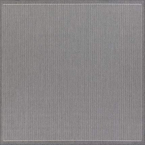 Recife Saddle Stitch Grey Outdoor Rug-Rug Shop and More