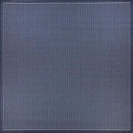 Recife Saddle Stitch Blue Indigo Outdoor Rugs-Rug Shop and More