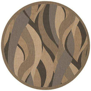 Recife Seagrass Round Outdoor Area Rugs-Rug Shop and More