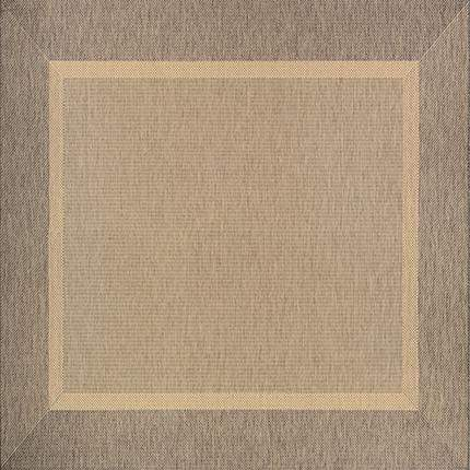 Recife Stria Texture Brown Outdoor Rugs-Rug Shop and More