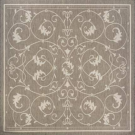 Recife Veranda Taupe Square Outdoor Rugs Rug Shop And More