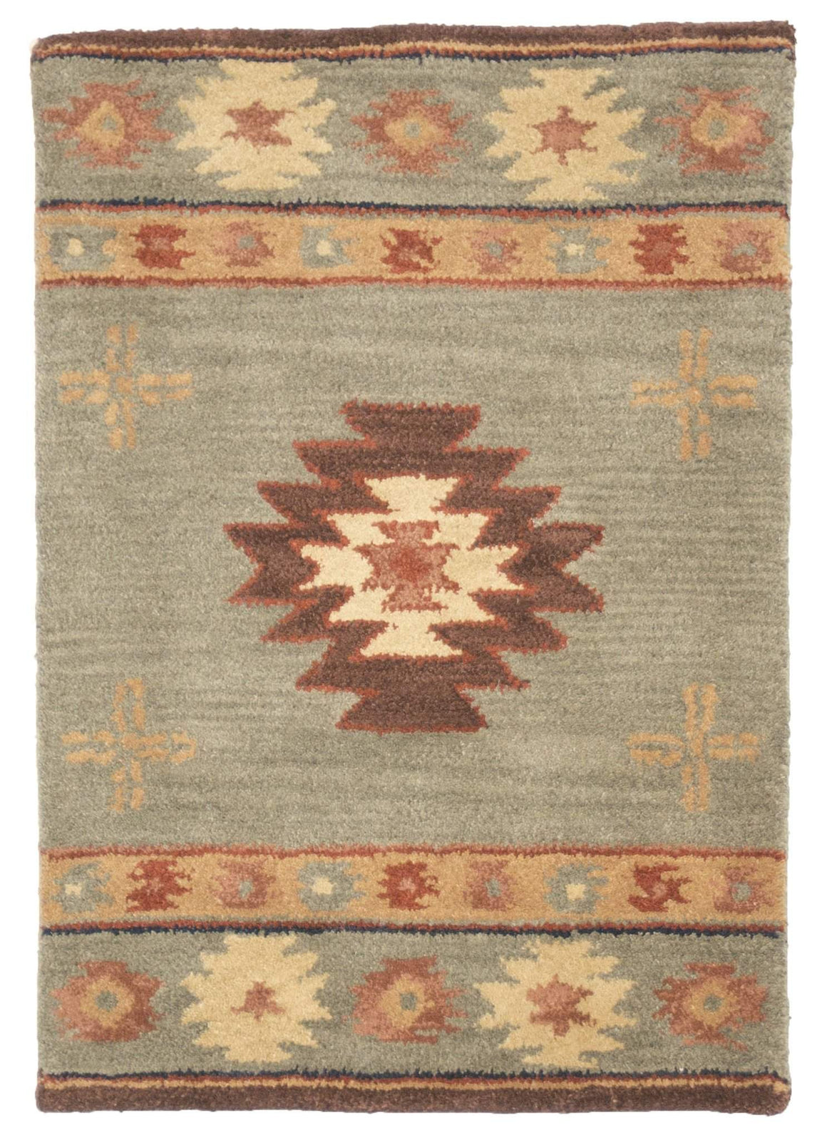 2' x 3' Southwest Design Wool Small Rug by Rug Shop and More Area Rugs - Rug Shop and More