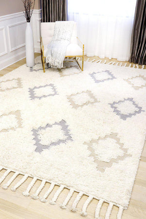 Santa Fe Modern Shag Cotton Rugs-Area Rugs-Rug Shop and More