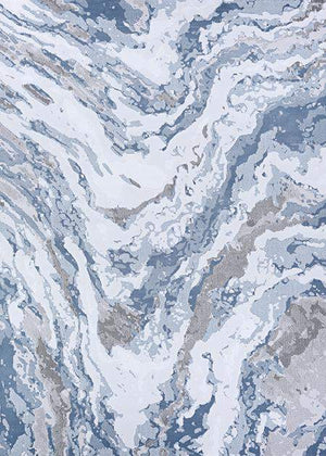 Serenity Marble Grey Abstract Rugs-Area Rugs-Rug Shop and More