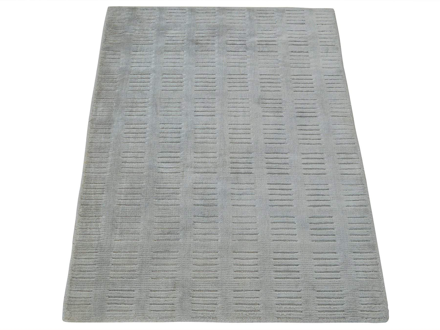 2' x 3' Modern Silk Oriental Area Rug-Area Rugs-Rug Shop and More