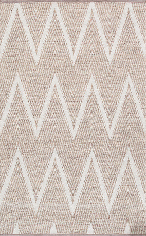Simplicity Ivory Modern Cotton Rugs