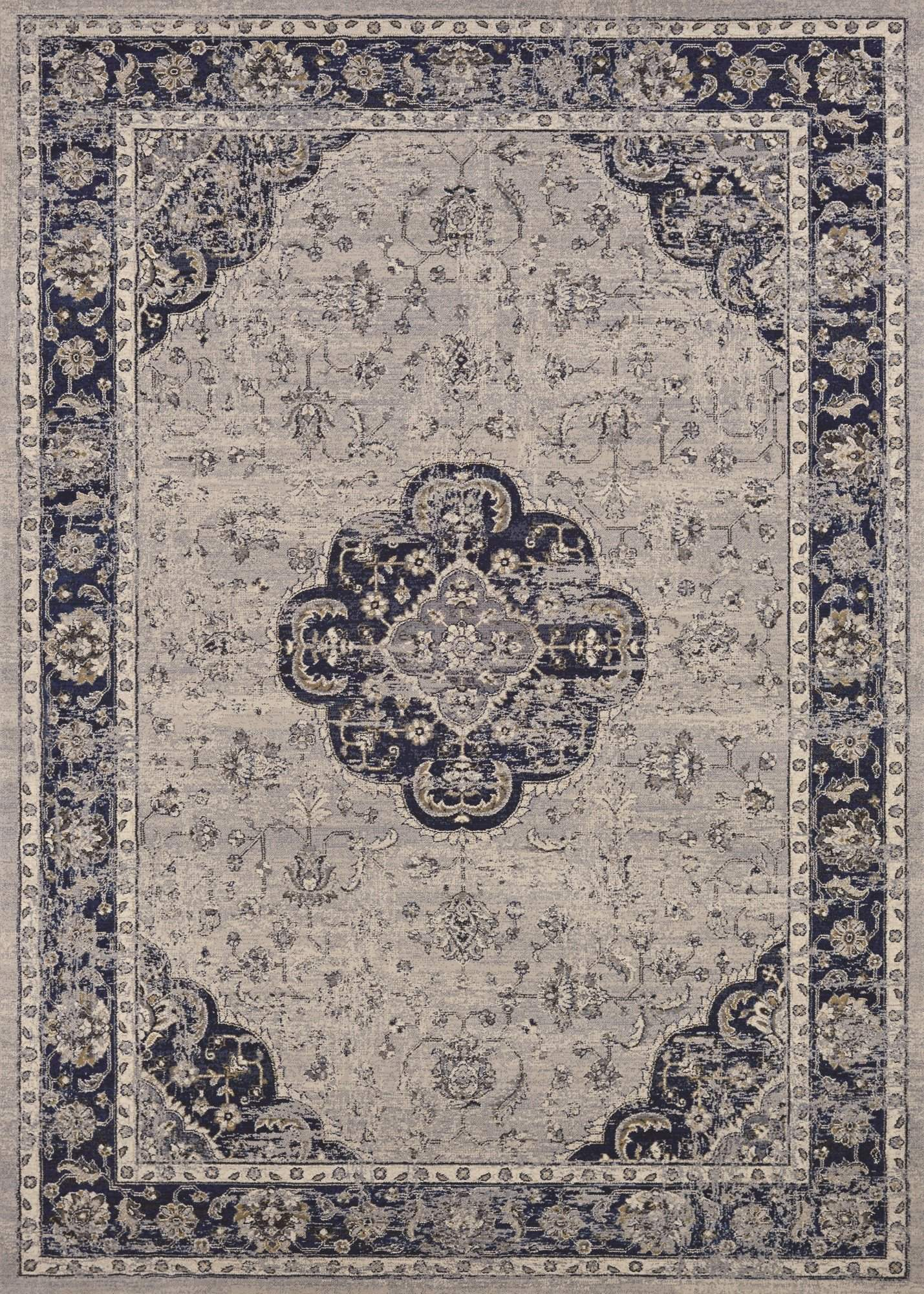 Sultan Treasures Clover Medallion Area Rugs-Area Rugs-Rug Shop and More