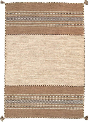 Transitional Hand-Woven Kilim Area Rugs