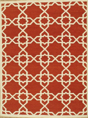Transitional Wool Bold Patterned Area Rugs