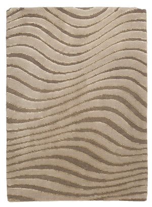 Tufenkian Glacier Clay Tibetan Modern 2' x 3' Area Rug-Area Rugs-Rug Shop and More
