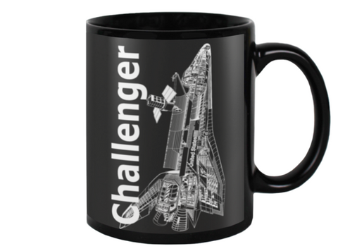 Challenger Space Shuttle Coffee Mug - Shuttlewear