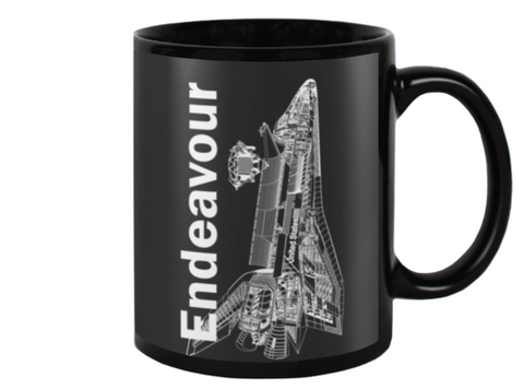 Endeavour Space Shuttle Coffee Mug - Shuttlewear
