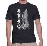 Columbia Shuttle T-Shirt - Shuttlewear, Columbia Shuttle T-Shirt